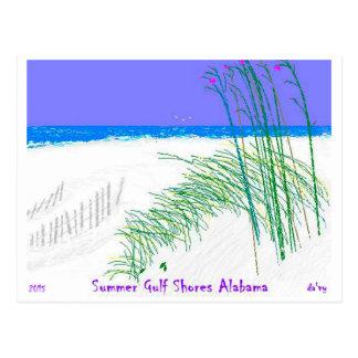 2015 Gulf Shores Alabama Postcard