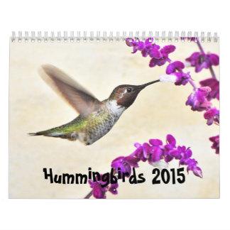 2015 Hummingbirds Calendar