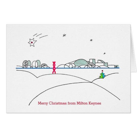 2015 Milton Keynes Christmas Card by Robert Rusin