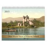 2015 Olde World Views of Killarney Ireland Wall Calendars