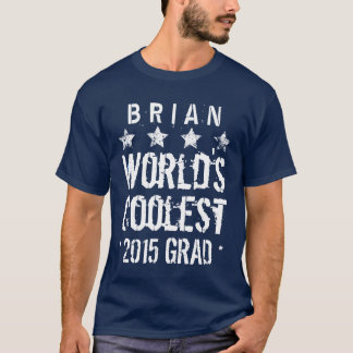 2015 or Any Year Class Of New Grad Grunge Stars A4 T-Shirt