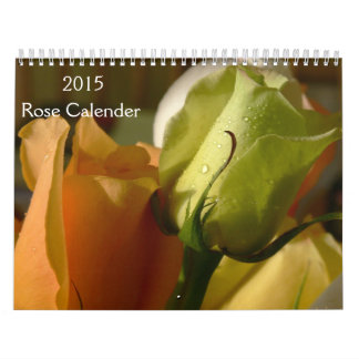 2015 Rose Calender Calendars