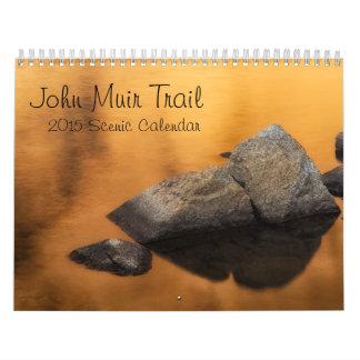 2015 Scenic Calendar - John Muir Trail