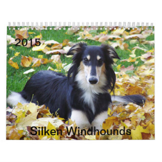 2015 Silken Windhounds Wall Calendar