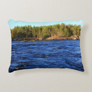 2015 Spring Runoff - Stillwater River Decorative Pillow