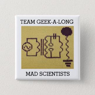 2015 Team Geek-A-Long Button
