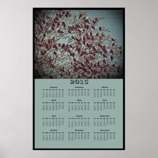 2015 The Birds Calendar Posters