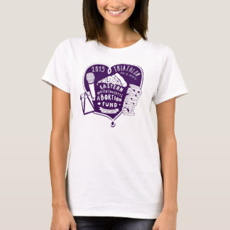 2015 Women's Triathlon T - purple T-Shirt