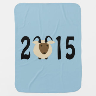 2015 - Year of the ram Baby Blanket
