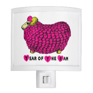2015 Year of the Ram Sheep or Goat - Night Light