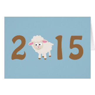 2015 - Year of the sheep design Card