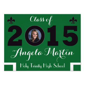 2015 Year & Photo Graduation Announcement