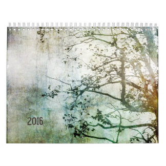 2016 Abstract Nature Calendar