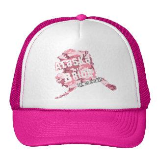 2016 AK Bride Map Trucker Hat in Pink Camo