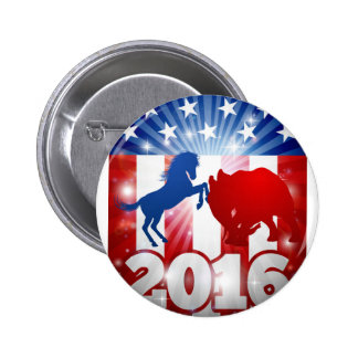 2016 American Election Concept 2 Inch Round Button