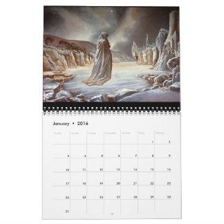 2016 Art Calendar ~ Philip Rubinov Jacobson