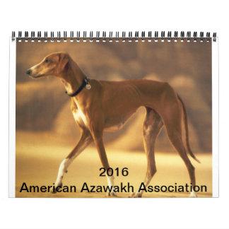 2016 Azawakh Calendar