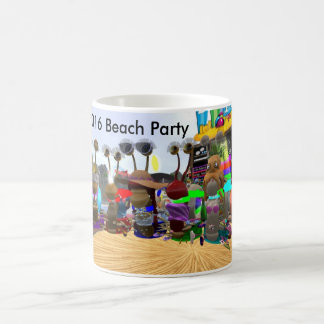2016 Beach party Coffee Mug