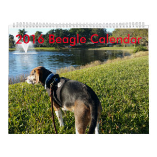 2016 Beagle Calendar