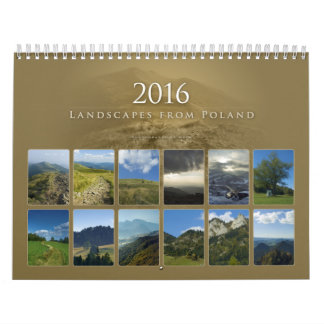 2016 | Beautiful Landscapes from Poland Calendars