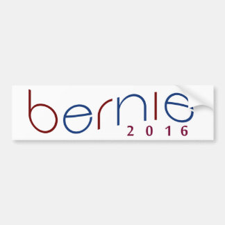 2016 Bernie Sanders Red, White, Blue Bumpersticker Bumper Sticker