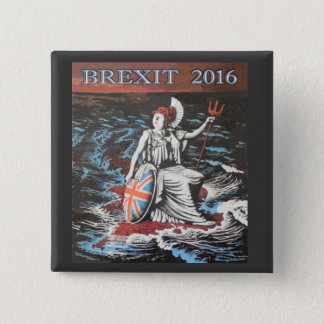 2016 BREXIT 2 INCH SQUARE BUTTON