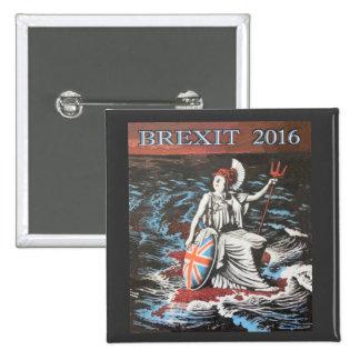 2016 BREXIT 2 INCH SQUARE BUTTON