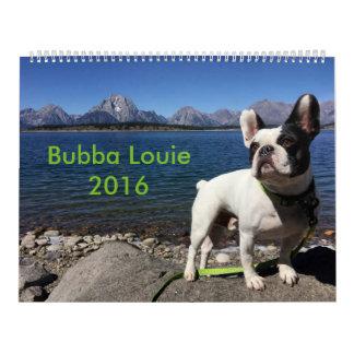 2016 Bubba Louie Calendar