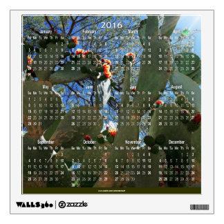 2016 Cactus Art Photography Calendar Decal