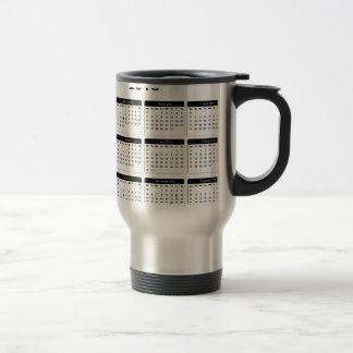 2016 Calendar2 jGibney The MUSEUM Zazzle Gifts Stainless Steel Travel Mug