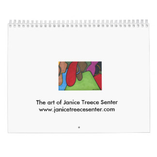 2016 Calendar- Janice Treece-Senter Wall Calendars
