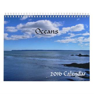2016 Calendar- Oceans Calendar
