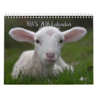 2016 Calendar of The Abolitionist Vegan Society