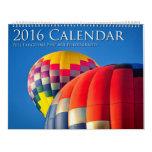 2016 calendrier, photographie de beaux-arts de calendriers