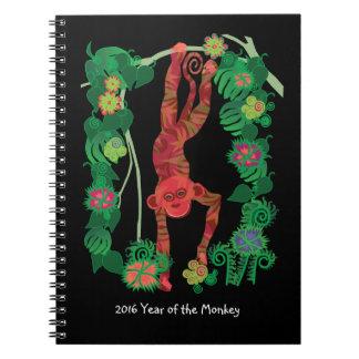 2016 Chinese Fire Monkey custom notebook