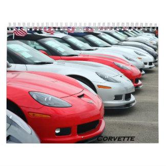2016 Corvette Calendar