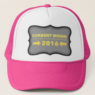 2016. Custom Trucker Hat