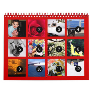 2016 Easy as 1 to 12 Make Your Own Photo Calendar