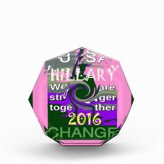 2016 Election Hillary USA We Are Stronger Together