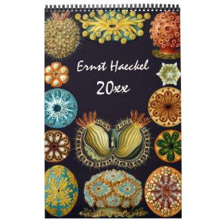 2016 Ernst Haeckel Art, Biology and Botany Wall Calendar