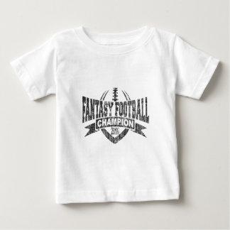 2016 Fantasy Football Champion Football V Outline Baby T-Shirt