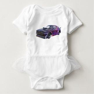 2016 Galaxy Purple Muscle Car Baby Bodysuit