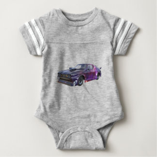 2016 Galaxy Purple Muscle Car Baby Bodysuit