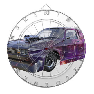 2016 Galaxy Purple Muscle Car Dartboard