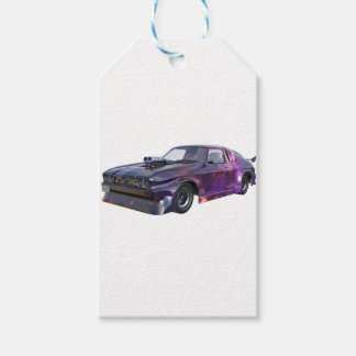 2016 Galaxy Purple Muscle Car Gift Tags