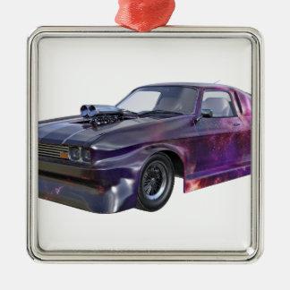2016 Galaxy Purple Muscle Car Metal Ornament