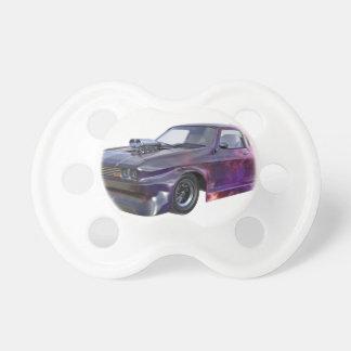 2016 Galaxy Purple Muscle Car Pacifiers