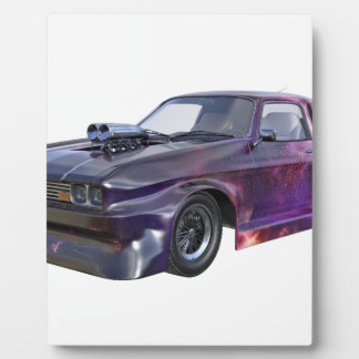 2016 Galaxy Purple Muscle Car Plaque