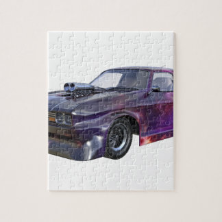 2016 Galaxy Purple Muscle Car Puzzle