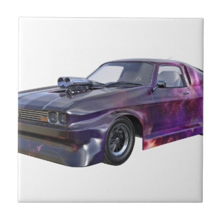2016 Galaxy Purple Muscle Car Tile